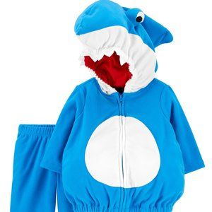 Carter's Pinkfong Baby Shark Costume Size 6-9M